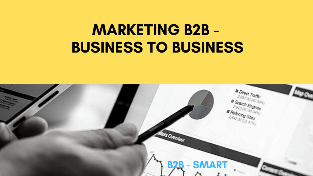 Marketing B2B - business to business